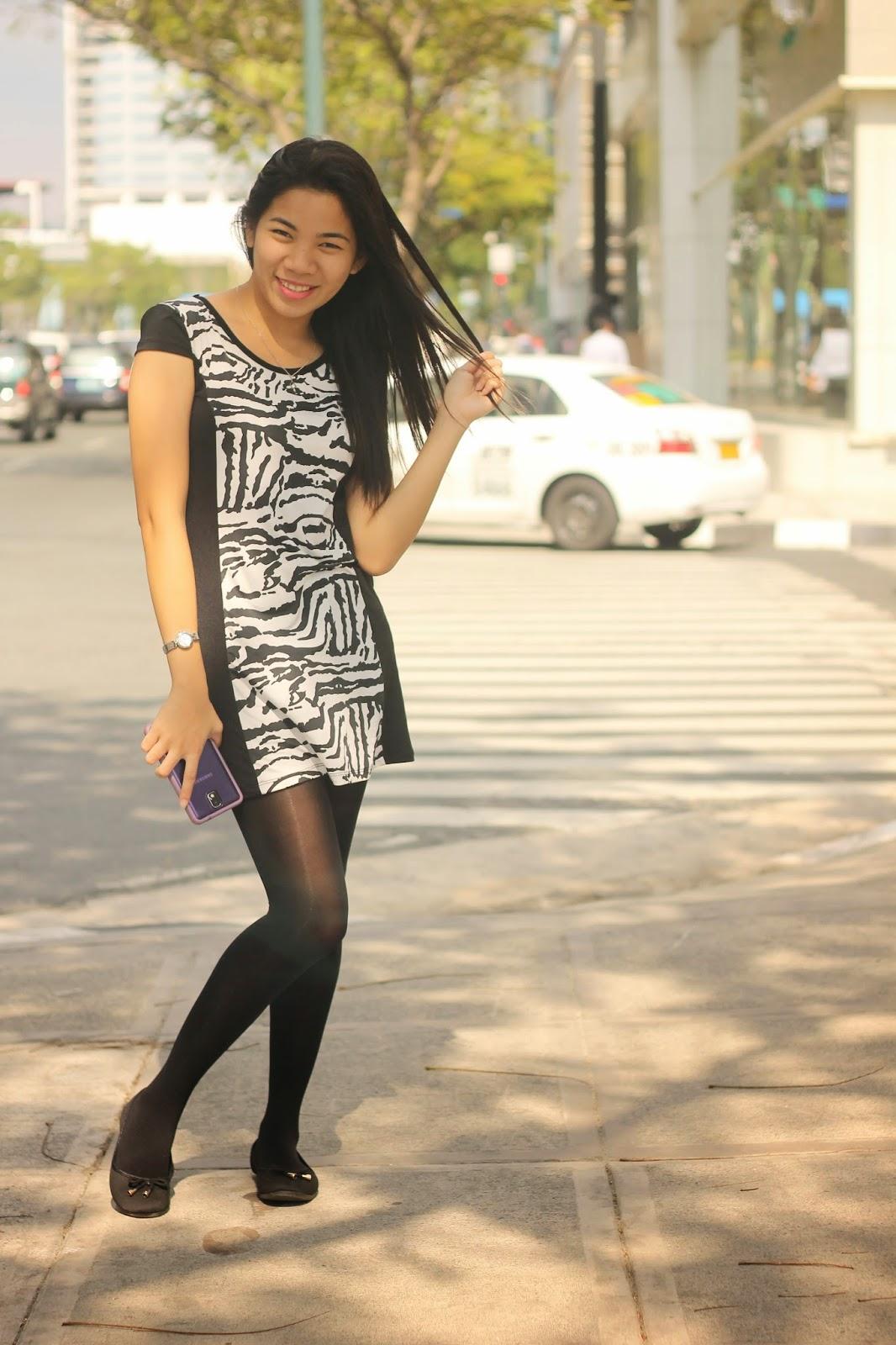 Dress And Stocking 11